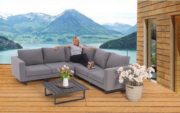 die 5 sitzer lounge wetterfest. Black Bedroom Furniture Sets. Home Design Ideas